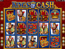Kings of Cash Slot Screesnhot