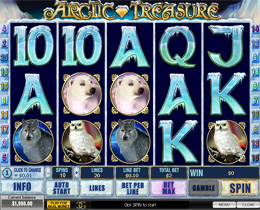 Arctic Treasure Slot Screenshot