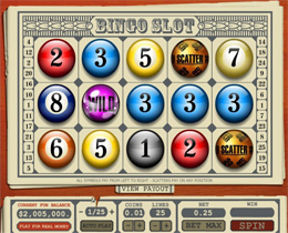 Bingo Slot Screenshot
