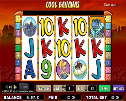 Cool Bananas Slot Screenshot