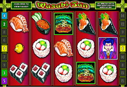 Wasabi San Slot Screenshot