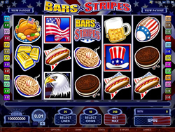 Bars and Stripes Slot Screenshot