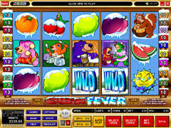 Cabin Fever Slot Screenshot