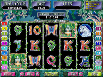 Enchanted Garden Slot Screenshot