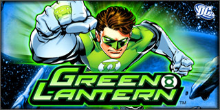 Green Lantern Slot Screenshot