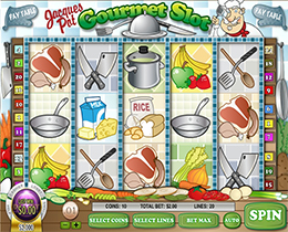 Jacques Pot Gourmet Slot Screenshot