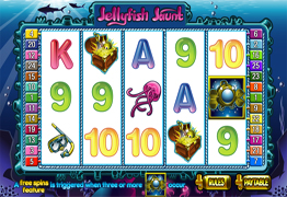 Jelly Fish Jaunt Slot Screenshot
