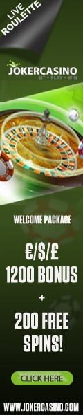 Play Live Roulette and Other Casino Games at Joker Casino