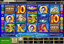 Mermaids Millions Slot Screenshot