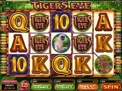 Tigers Eye Slot Screenshot