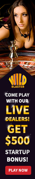 Wild Blaster Casino has a Live Dealer Casino